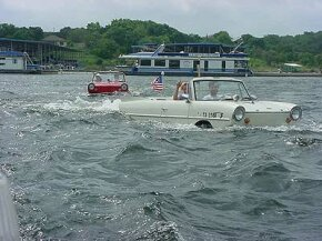 The 7th International Amphicar Owners Club Swim-In, Celina, OH