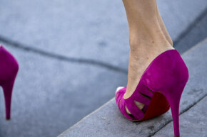Those sexy stillettos could get you a ticket in Carmel, Calif.