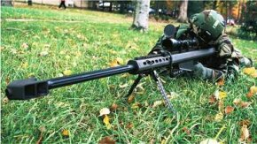 Ranger companies are supported by three sniper teams, including a team outfitted with .50-caliber guns like this one.