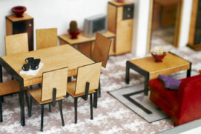 To get a good sense of the scale of furniture you can have, play around with dollhouse furniture pieces.