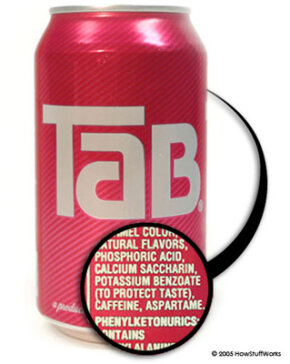 Tab is one of the few products on the market to contain saccharin.