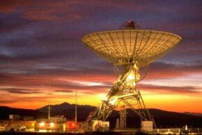 If you become an astrobiologist, you might become interested in searching for signals from distant stars and galaxies with a radio telescope. This one is located at the Lewis Center for Educational Research in California.