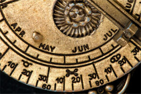 With a few twists and turns of your astrolabe, you can tell time. Relax. It's not as hard as you think once you get the hang of it.