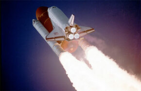 Space Shuttle Atlantis launches on Dec. 2, 1988 on a classified mission for the U.S. Department of Defense.