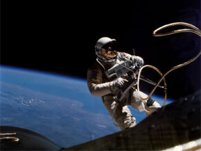 Edward H. White II conducted NASA's first spacewalk on June 3, 1965, as pilot of the Gemini IV mission.