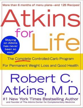 One of the many available books regarding the Atkins® program