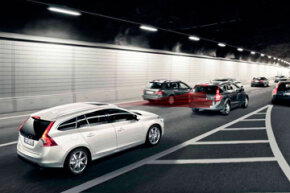 Volvo's City Safety system automatically brakes if the driver fails to react in time when the vehicle in front slows down or stops. Want to learn more? Check out these Brake Pictures.
