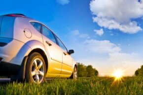 A clear coat protects the car and its paint from the sun's damaging ultraviolet rays.