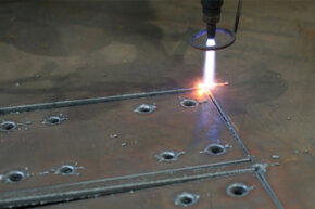 Plasma cutters use an ionized stream of gas to cut metal, and they can be programmed to be extremely accurate. See more pictures of power tools.