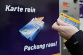 As of Jan. 1, 2007, Germans could use their credit cards for cigarettes from vending machines. See more debt pictures.