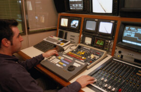 New Avid technology lets editors edit in HD (high-definition) technology.
