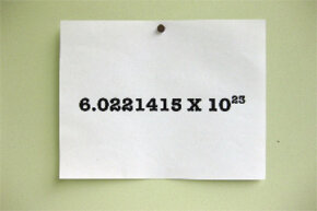 Avogadro's number: At least it's not as hard to remember as pi.