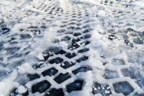 All-wheel drive can help you get started on icy roads; however, it doesn't improve traction, which is what you really need.