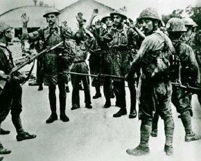 Japan's capture of the island fortress of Singapore in February 1942 shocked Britain and other European colonial powers.