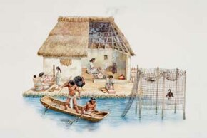 Aztec Indians hung strings of chilies from their canoes to ward off sharks. See more shark pictures.