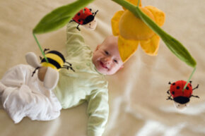 Put some may flowers in your baby's room!