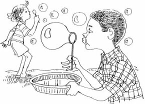 No-Sting Bubbles will not burn your kids' eyes if they pop near their faces.