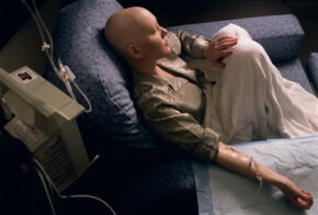 Many chemotherapy patients will shave their head in anticipation of their hair falling out.
