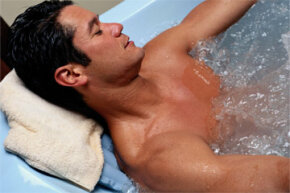 A hot bath can feel really good after a long day. Is it actually good for your health, too?