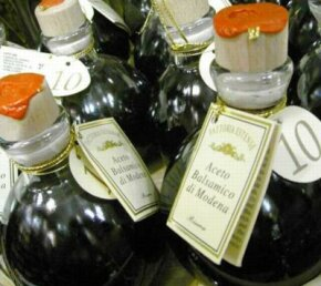 Balsamic vinegar can be easily substituted with wine vinegar.