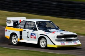 The Audi Sport Quattro S1 was one of the banned Group B rally cars.