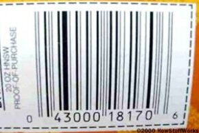 UPC code from a box of Post Honey Nut Shredded Wheat