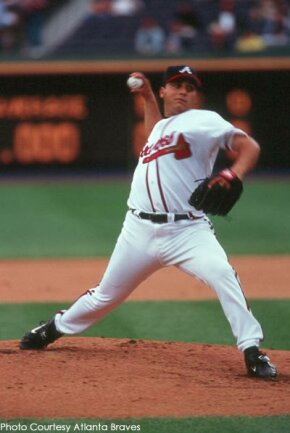 Former Atlanta Braves pitcher Russ Ortiz