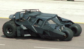 "Batman Image Gallery The ""Batman Begins"" Batmobile as a NASCAR pace car. See more Batman pictures."