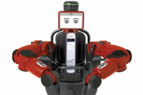 Baxter's expressions let nearby workers know what's going on with the robot's processes, from stand-by to concentration to a sad resignation when a task isn't going well.