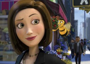 "Vanessa (Renée Zellweger) and Barry (Jerry Seinfeld) out on the town in ""Bee Movie"""