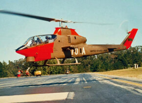 The Bell Huey Cobra attack helicopter arrived in the 1960s and remains a valuable fighting force. See more pictures of flight.
