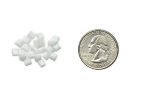 Mix pellets of treated plastic resin in with its own polymers, and a manufacturer can create products that degrade on a specified timeline.