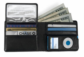 The CEO Billfold Wallet for iPod Nano.