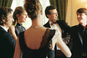 """The goal: to fit in seamlessly with the crowd, no matter how you interpret """"black tie optional."""""""