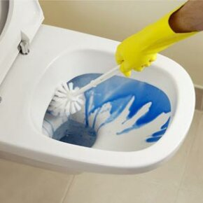 When used improperly, bleach can be an extremely harmful substance. Many people wear gloves when using bleach to protect their hands.
