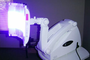 Blue-light therapy has proven effective in treating acne in many cases, but the long-term effects aren't known.
