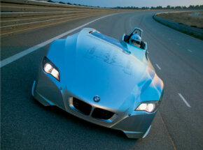 The H2R's hydrogen combustion engine produces record speeds on clean-burning fuel.