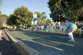 Bocce ball is a game of skill and strategy for both serious athletes and amateur enthusiasts. See more sports pictures.