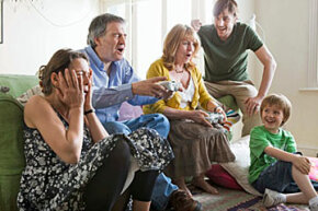 Pick a game that will engage the whole family, no matter everyone's age.