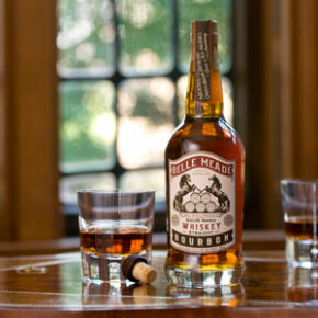Definitely include a few small batch bourbons, like this one from Belle Meade, which is a family-owned distillery in Tennessee.