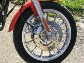 Motorcycle brake calipers may be smaller than the brake calipers on other vehicles, but they provide plenty of stopping power for the relatively lightweight bikes.