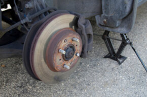 Image Gallery: Brakes Brake cleaners are effective in removing oil, dirt and other debris from your vehicle's braking system. See more pictures of brakes.