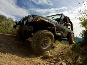 Many off-roaders prefer steel brake lines that resist punctures and swelling.