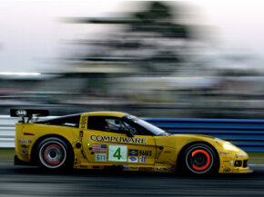 Ceramic brake pads may be expensive, but they can withstand the extreme heat generated by high-performance race cars.