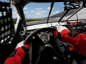 High-performance brakes help racecar drivers safely enter and exit dangerous turns.