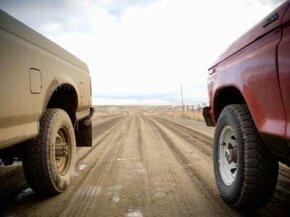 Brake upgrades help the stopping power of pickup trucks.