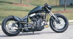 Buell Street Fighter is a custom chopper with a modified version of a Harley-Davidson Sportster engine. See more chopper pictures.