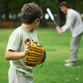 Something as simple as hitting a few balls with Dad after dinner can turn into a family's generations-long love of baseball.
