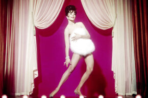 "Natalie Wood portrays famed burlesque star Gyspy Rose Lee in the 1962 movie ""Gypsy."" See more movie-making pictures."