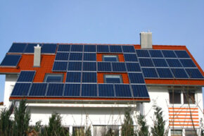 Coating your roof with solar panels may allow you to get off the power grid or sell electricity back to it.